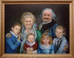 Поляков Олег - Семейный портрет (костюмированный)