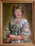 Поляков Олег - Фаина (костюмированный портрет)