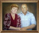 Поляков Олег - Портрет супругов