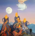 Ray Liza - Volcanic tea drinking