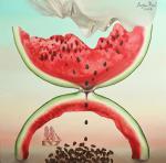 Ray Liza - Watermelon, eaten in time