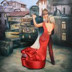 Ray Liza - Liza Ray  -  Red shoe