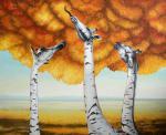 Ray Liza - Liza Ray  -  Autumn birches