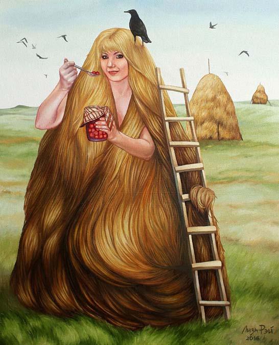 Liza Ray  -  Autumn haystack