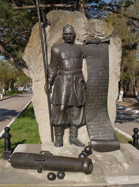 Памятный знак казакам основателям станицы Старощербиновской