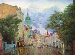 Razzhivin Igor - The Moscow roads.