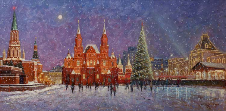 Moscow New Year's.