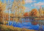 Autumn in Moscow area.