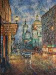 Moscow dusk.