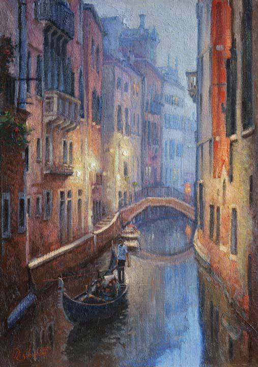 Tuman.Venetsiya evening.