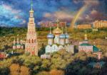Razzhivin Igor - Rainbow over Moscow.