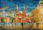 Razzhivin Igor - Twilight on the red square.
