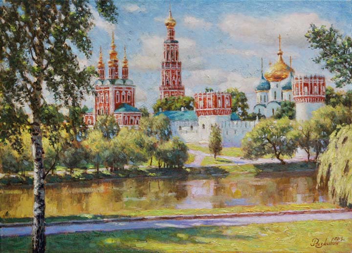 Big Novodevichy pond.