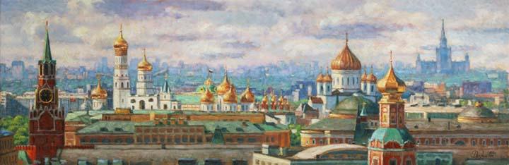 Москва...сквозь времена.