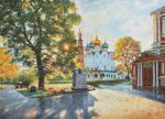 The beauty of the light. Novodevichy convent.