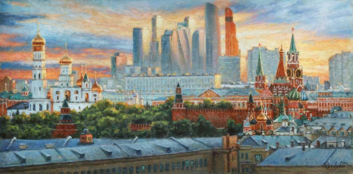 Vertical Moscow.