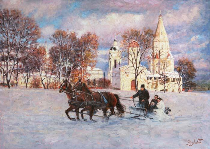 Festivities in Kolomenskoye.