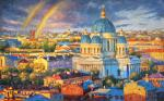 Razzhivin Igor - Rainbow mood of the Northern capital