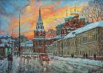 Razzhivin Igor - The beauty of the winter sunset