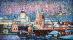 Over Moscow sweep snowstorms