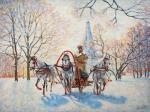 Razzhivin Igor - Winter in Kolomenskoye