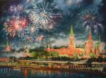 Razzhivin Igor - The sky over Moscow sparkles