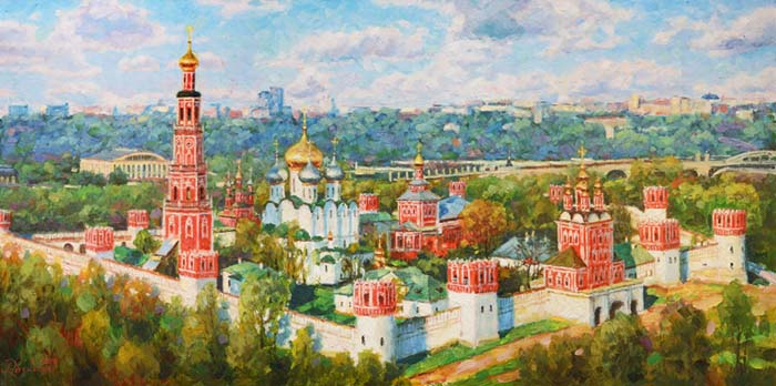 The greatness of Novodevichy convent