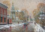 Razzhivin Igor - Moscow sketches