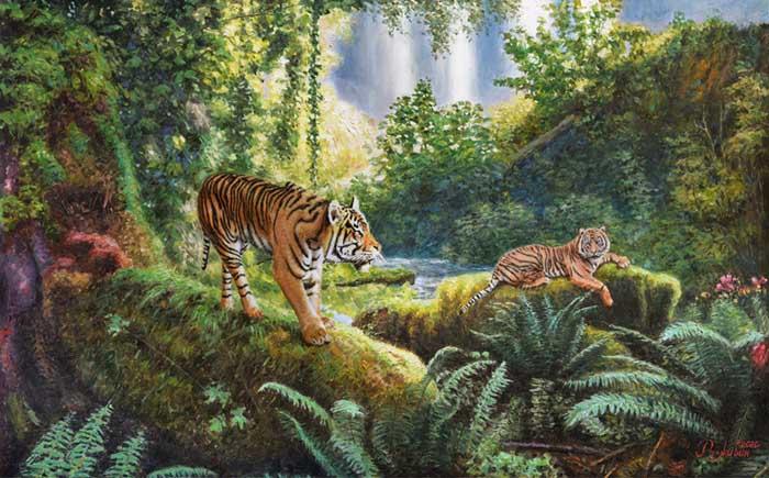Tiger's Paradise