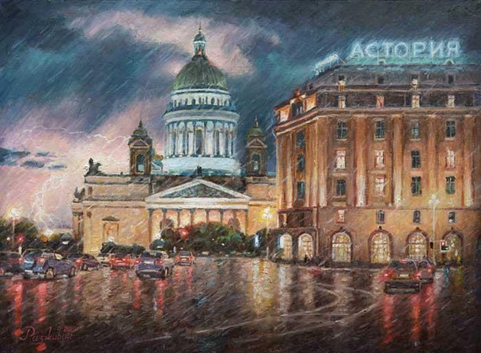 St. Petersburg thunderstorms