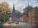 Razzhivin Igor - Moscow under the autumn sky