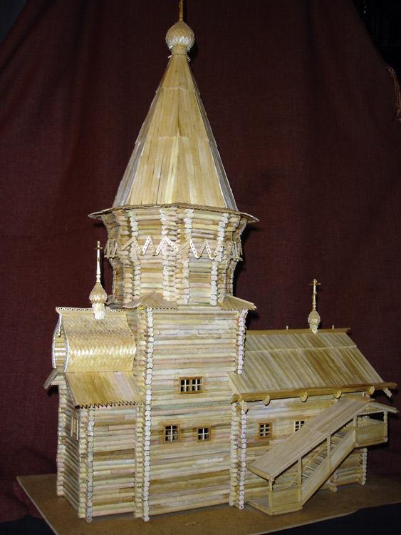 Успенская церковь из Кондопоги