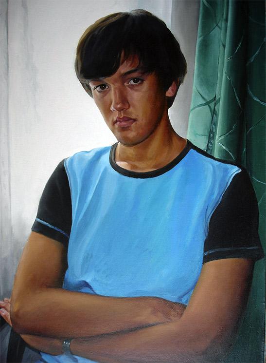 Портрет молодого человека.