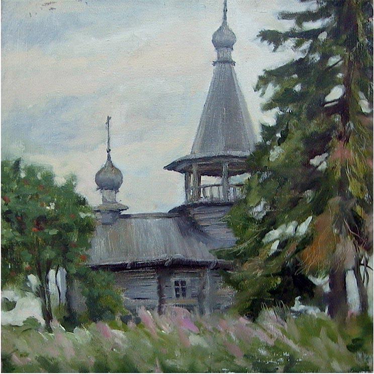 Часовня в Усть-Яндоме.