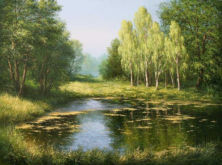 … And the lake secretly longed.
