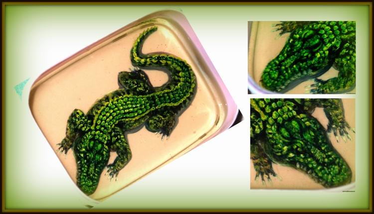 Крокодил 3д