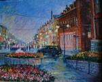 Мomot Ludmila - evening arbat