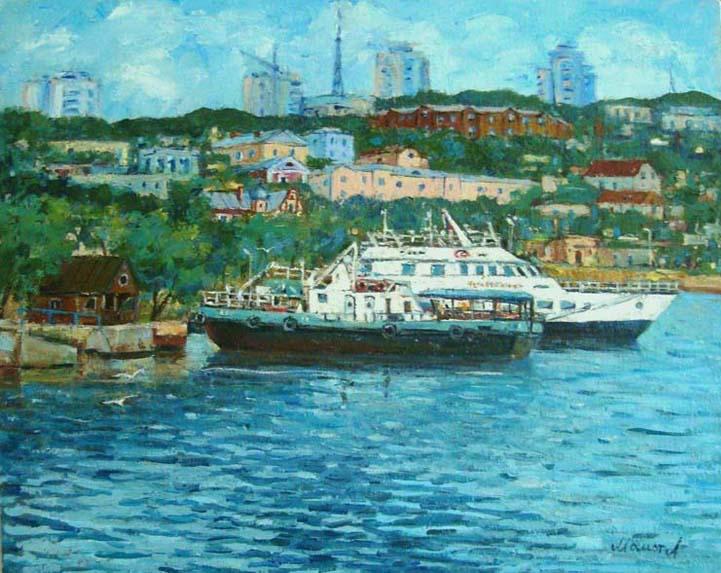 at wharf