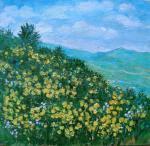 Мomot Ludmila - spring at mountain
