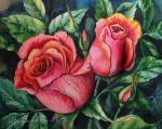 Valevskaya Valentina - Two roses