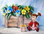 Valevskaya Valentina - A doll with a gift