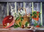 Valevskaya Valentina - Hat and mushrooms