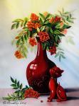 Valevskaya Valentina - Red cat