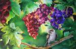 Valevskaya Valentina - In the clump of grape