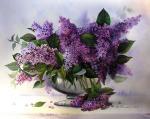 Valevskaya Valentina - Lilac bouquet