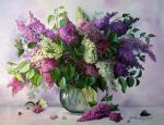 Valevskaya Valentina - Scent of lilac.