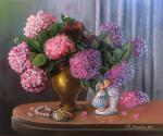 Valevskaya Valentina - Hydrangea for the beloved.