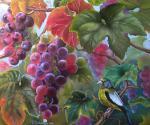 Valevskaya Valentina - Ripe grapes.