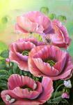Valevskaya Valentina - Pink poppies.