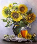 Valevskaya Valentina - Honey sunflowers